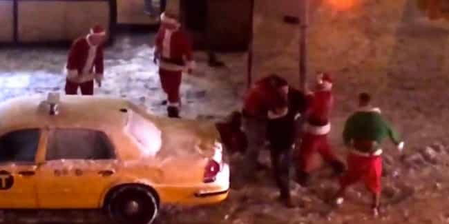 SantaCon Santa Fight in NYC is listed (or ranked) 3 on the list 20 Painful Pub Crawl Injuries