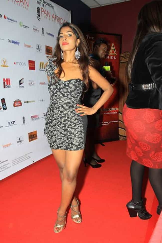 Preity Uupala in one shoulder ... is listed (or ranked) 2 on the list The Most Stunning Preity Uupala Photos