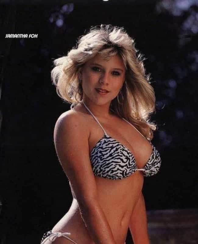 Samantha Fox in animal print t... is listed (or ranked) 2 on the list The Hottest Samantha Fox Photos
