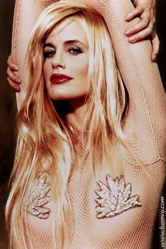 Daryl Hannah in fishnet bodysu... is listed (or ranked) 1 on the list The Hottest Daryl Hannah Photos