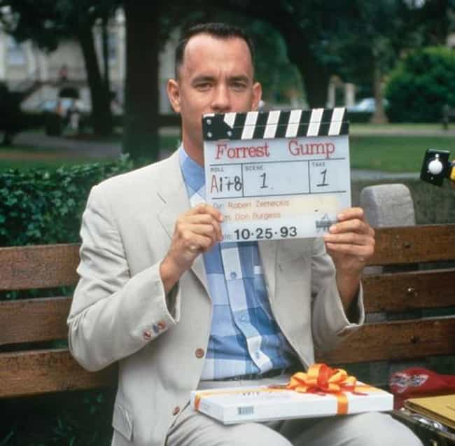 First Scene, First Take of For... is listed (or ranked) 3 on the list 30 Awesome Behind the Scenes Photos from '90s Movies