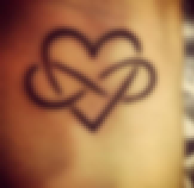 Heart Infinity Tattoos is listed (or ranked) 2 on the list The Best Infinity Tattoo Designs