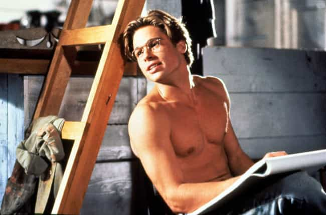 He Didn't Realize That the... is listed (or ranked) 1 on the list 26 Photos of Young Brad Pitt