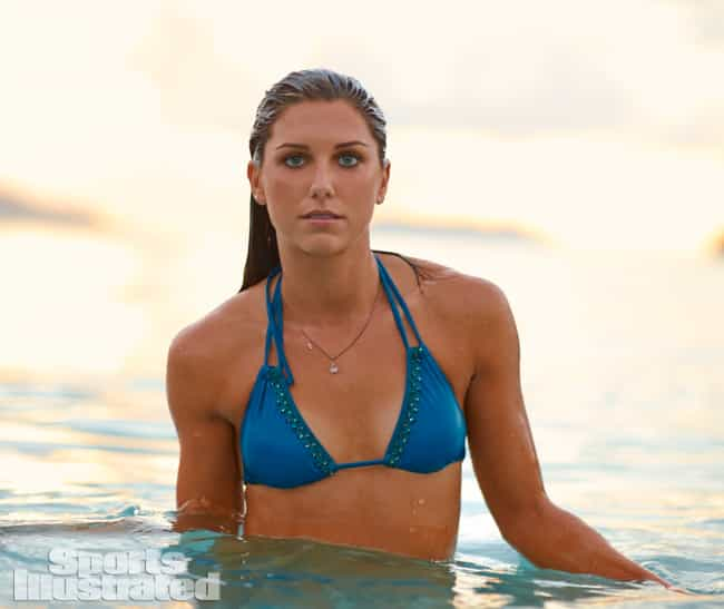 Alex Morgan in Blue is listed (or ranked) 2 on the list The Hottest Alex Morgan Photos