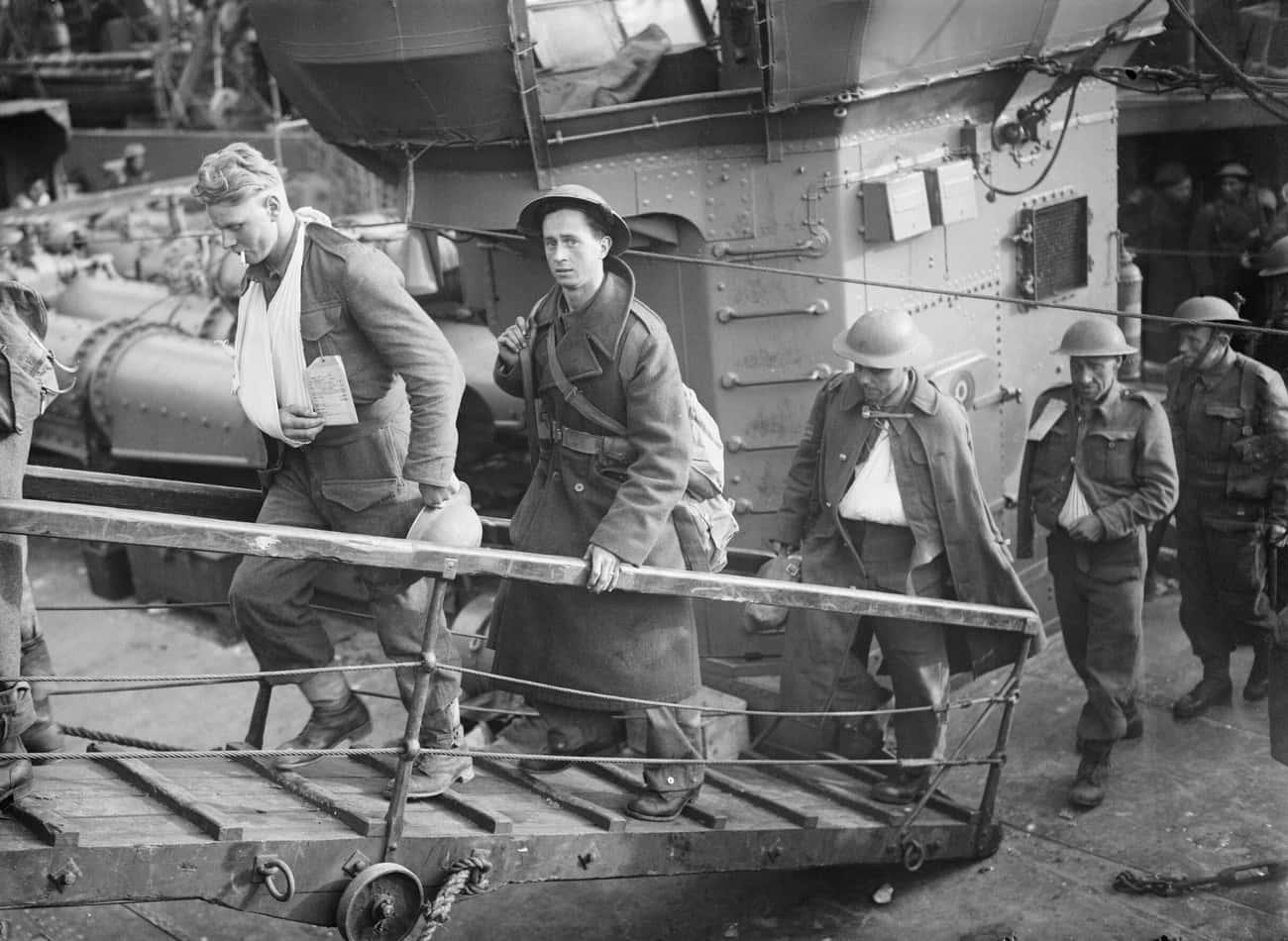 Hitler Let The British Escape At Dunkirk