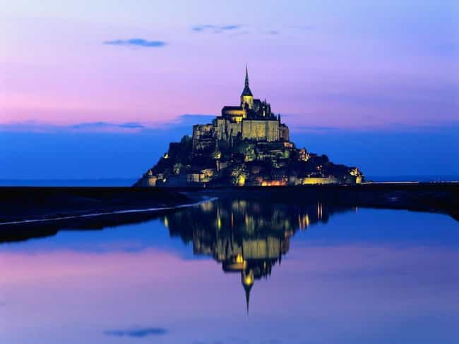 Mont St. Michel is listed (or ranked) 3 on the list 30+ Famous Places Seen From a New Perspective