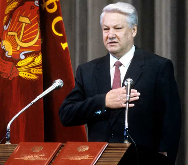 Yeltsin Almost Nukes Ame... is listed (or ranked) 3 on the list 15 Times The World Was Almost Completely Destroyed