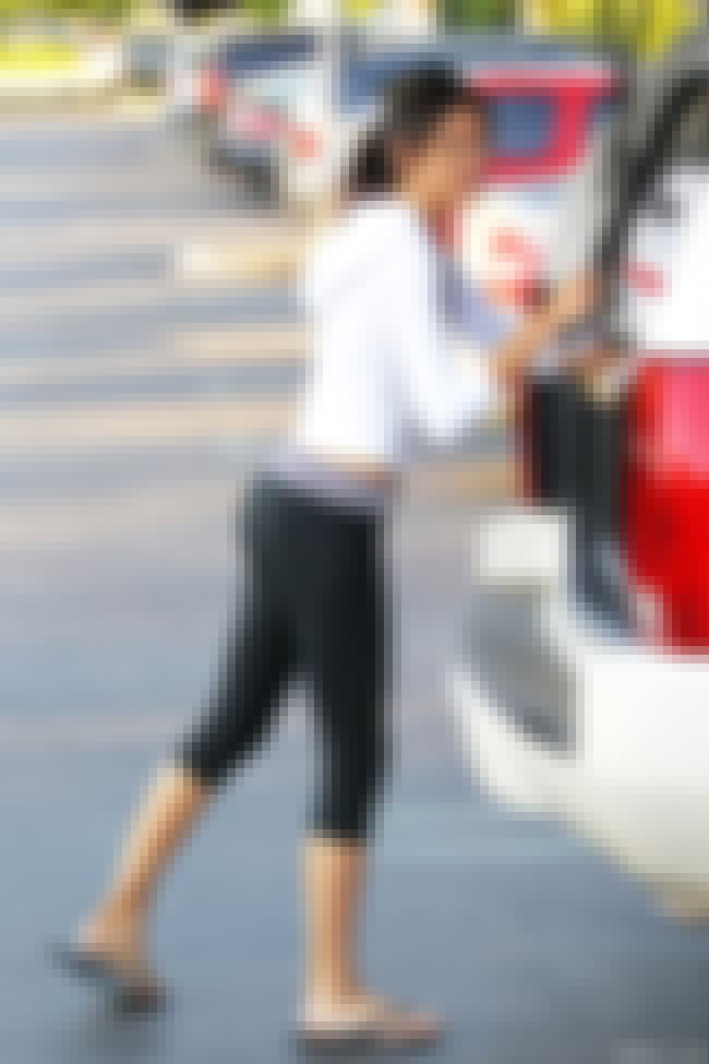 Kendall Jenner Behind A Car is listed (or ranked) 4 on the list Kendall Jenner Feet Pics
