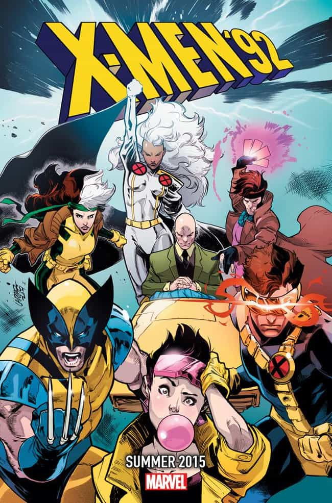 X-Men '92 is listed (or ranked) 2 on the list The Best Teasers for Marvel's Secret Wars Event