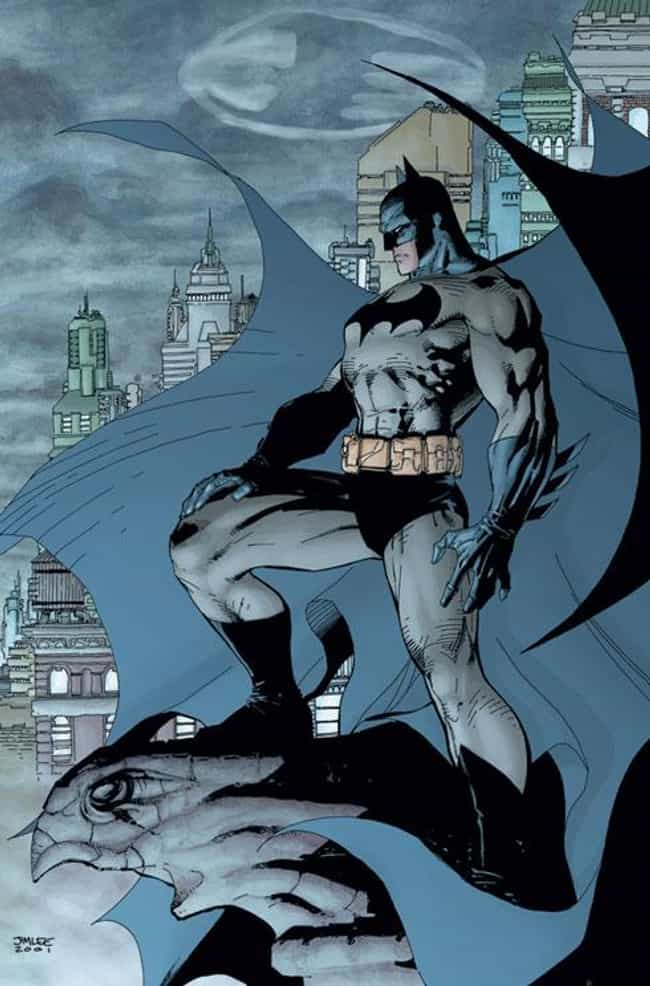 Jim Lee's Batman is listed (or ranked) 1 on the list The Greatest Batsuits / Batman Costumes of All Time