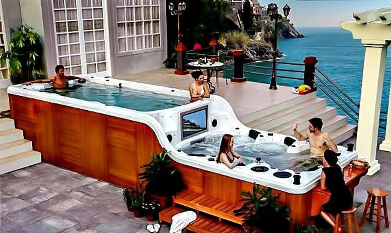 The Luxema 800 Spa is listed (or ranked) 2 on the list The Coolest, Most Expensive Things Money Can Buy