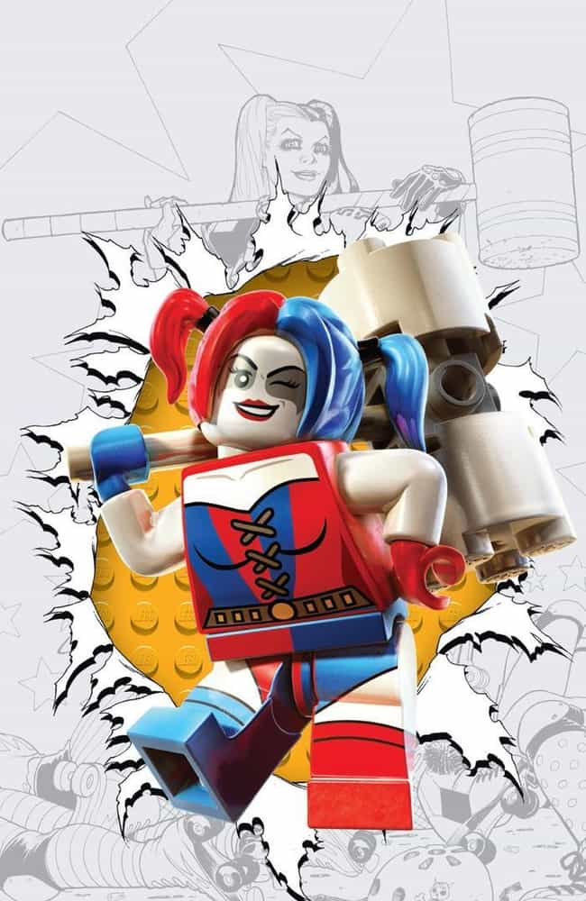 Harley Quinn #12 is listed (or ranked) 2 on the list The Best DC Comics Lego Covers