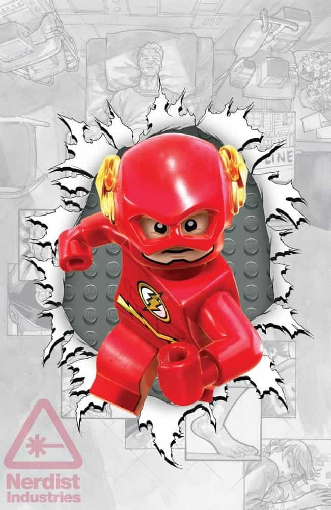 Flash #36 is listed (or ranked) 4 on the list The Best DC Comics Lego Covers