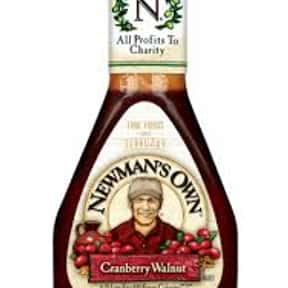 Newman's Own Cranberry Wal is listed (or ranked) 24 on the list The Very Best Newman's Own Salad Dressing Flavors