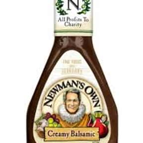 Newman's Own Creamy Balsam is listed (or ranked) 5 on the list The Very Best Newman's Own Salad Dressing Flavors