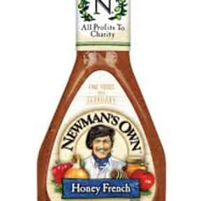 Newman's Own Honey French  is listed (or ranked) 15 on the list The Very Best Newman's Own Salad Dressing Flavors