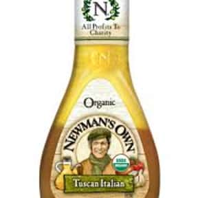 Newman's Own Organic Tusca is listed (or ranked) 20 on the list The Very Best Newman's Own Salad Dressing Flavors