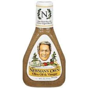 Newman's Own Olive Oil and is listed (or ranked) 4 on the list The Very Best Newman's Own Salad Dressing Flavors