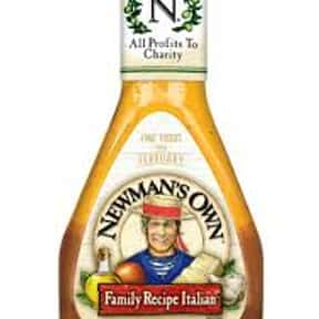 Newman's Own Italian Dress is listed (or ranked) 16 on the list The Very Best Newman's Own Salad Dressing Flavors