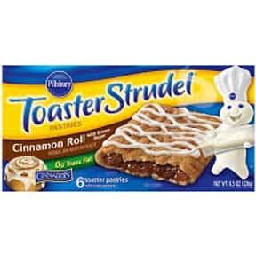 Toaster Strudel Cinnamon Roll with Cinnabon Flavor