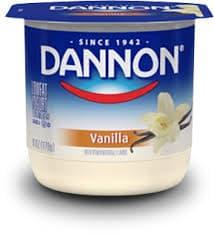 Dannon Classics Vanilla on Random Best Dannon Yogurt Flavors