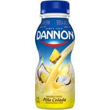 Dannon Drinks Pina Colada on Random Best Dannon Yogurt Flavors