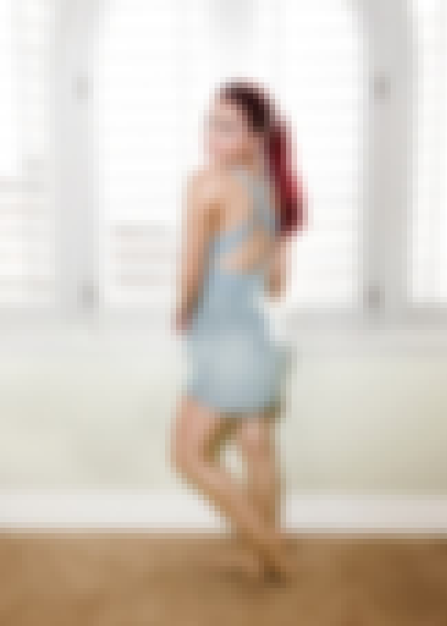 Ariana Grande Showing Her Back... is listed (or ranked) 4 on the list Ariana Grande Feet Pics
