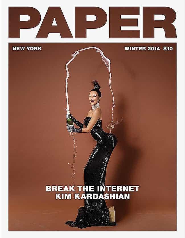 Naya Rivera Shames Kim Kardash... is listed (or ranked) 4 on the list 2014 Celebrity Scandals List