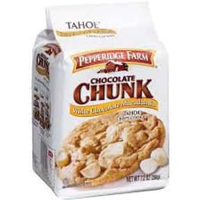 Pepperidge Farm Tahoe White Ch is listed (or ranked) 10 on the list The Best Cookies Made by Pepperidge Farm