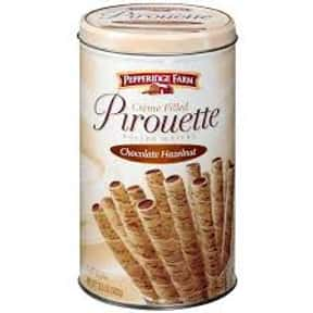 Pepperidge Farm Chocolate Haze is listed (or ranked) 5 on the list The Best Cookies Made by Pepperidge Farm
