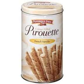 Pepperidge Farm French Vanilla is listed (or ranked) 22 on the list The Best Cookies Made by Pepperidge Farm