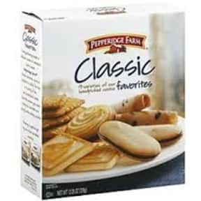 Pepperidge Farm Classic Favori is listed (or ranked) 11 on the list The Best Cookies Made by Pepperidge Farm