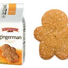 Pepperidge Farm Gingerman Swee is listed (or ranked) 18 on the list The Best Cookies Made by Pepperidge Farm