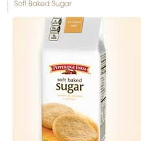 Pepperidge Farm Soft Baked Sug is listed (or ranked) 24 on the list The Best Cookies Made by Pepperidge Farm