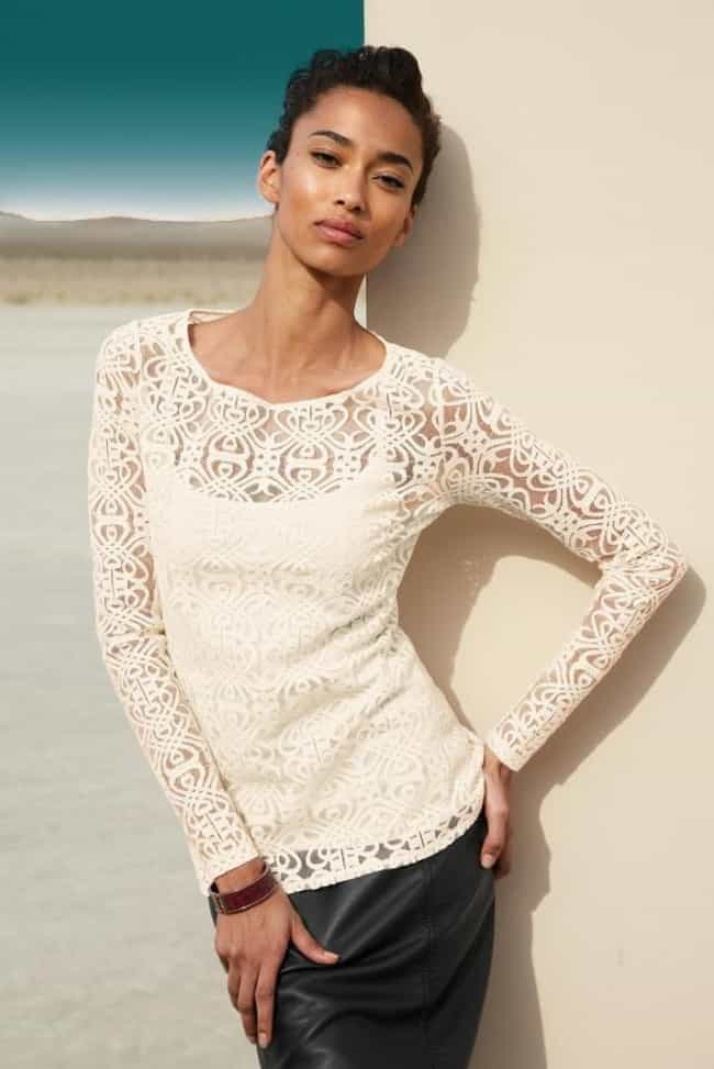 Hottest Anais Mali in White Lo... is listed (or ranked) 1 on the list The Hottest Anais Mali Pictures