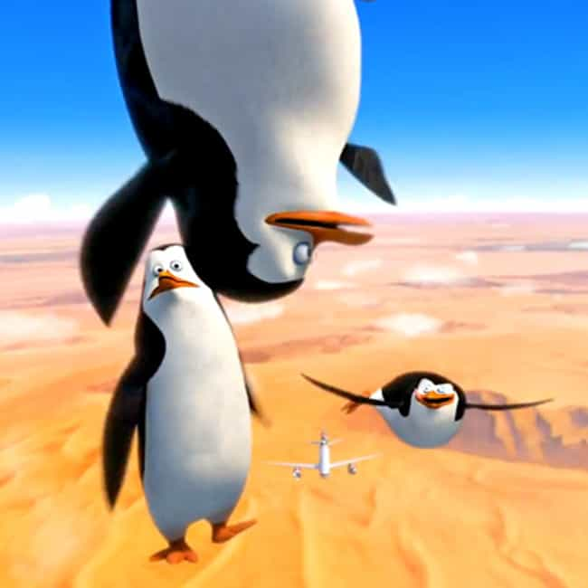 We're Going in Hot is listed (or ranked) 4 on the list Penguins of Madagascar Movie Quotes