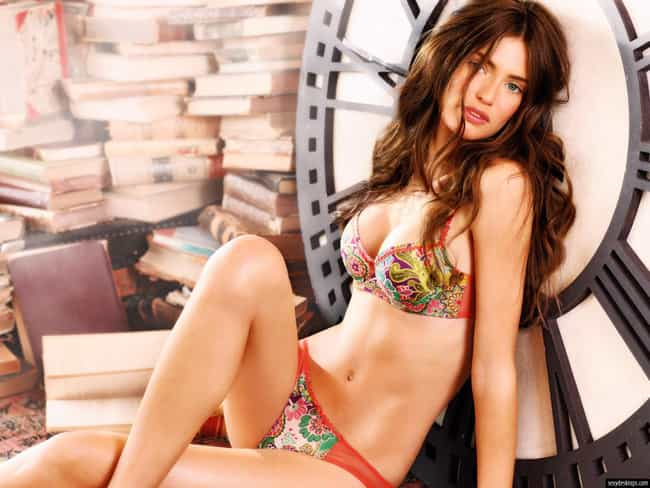Bianca Balti in Two Piece Flor... is listed (or ranked) 4 on the list Hottest Bianca Balti Photos