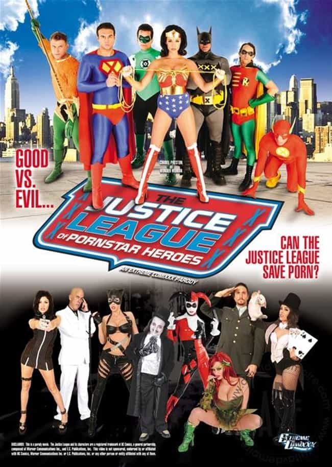 Justice League of Porn Star He... is listed (or ranked) 1 on the list The Best Superhero Porn Parodies