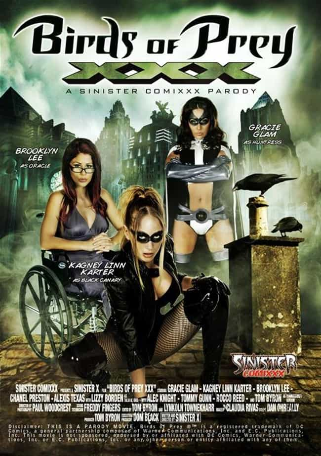 Birds of Prey XXX: A Sinister ... is listed (or ranked) 4 on the list The Best Superhero Porn Parodies