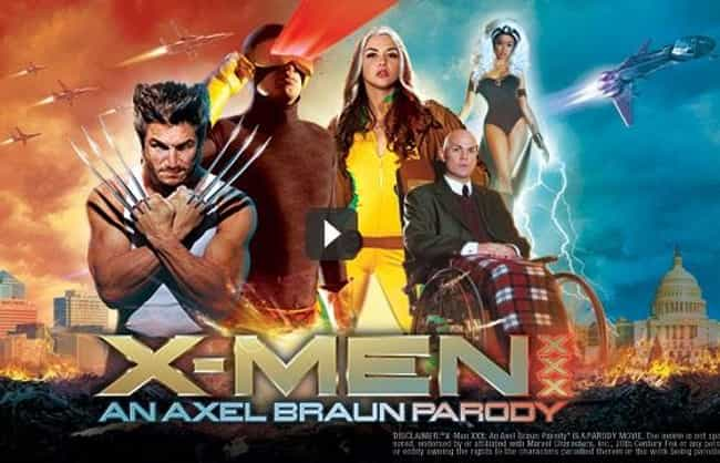 X-Men XXX: An Axel Braun Parod... is listed (or ranked) 3 on the list The Best Superhero Porn Parodies