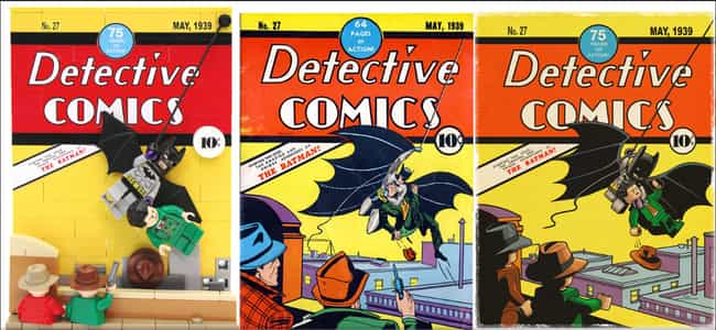 Detective Comics #27 is listed (or ranked) 4 on the list The Best Fan Recreations of Comic Book Covers