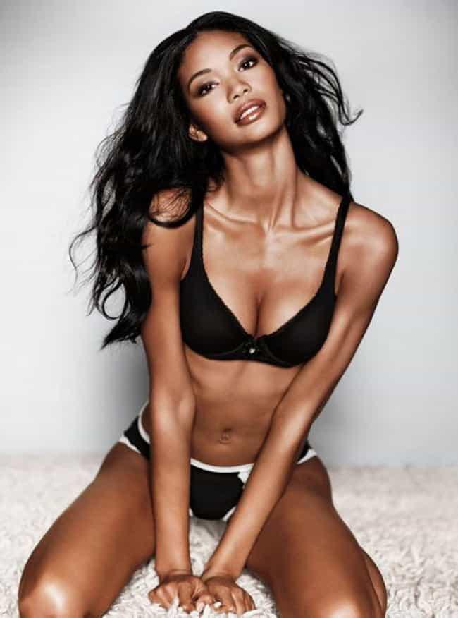 Chanel Iman in a Black Bra and... is listed (or ranked) 1 on the list Hottest Chanel Iman Photos