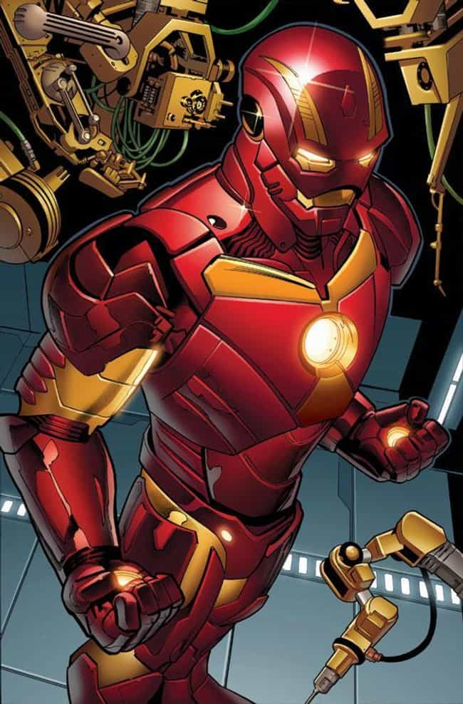 Godkiller Armor is listed (or ranked) 1 on the list The Greatest Iron Man Armor of All Time