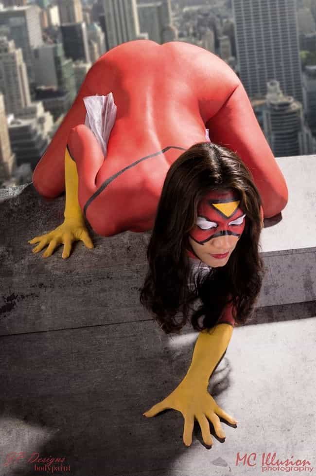 Spider-Woman #1 is listed (or ranked) 1 on the list The Best Fan Recreations of Comic Book Covers