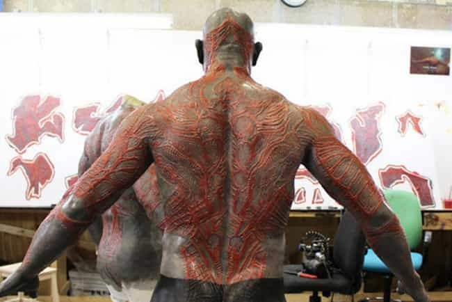 That's some intense body m... is listed (or ranked) 4 on the list The Best BTS Photos from Guardians of the Galaxy