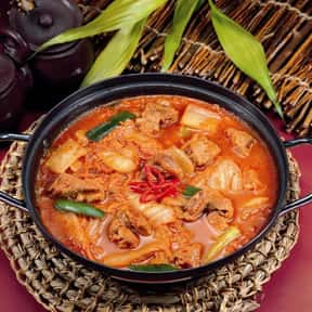 Kimchi-jjigae is listed (or ranked) 8 on the list The Best Korean Food