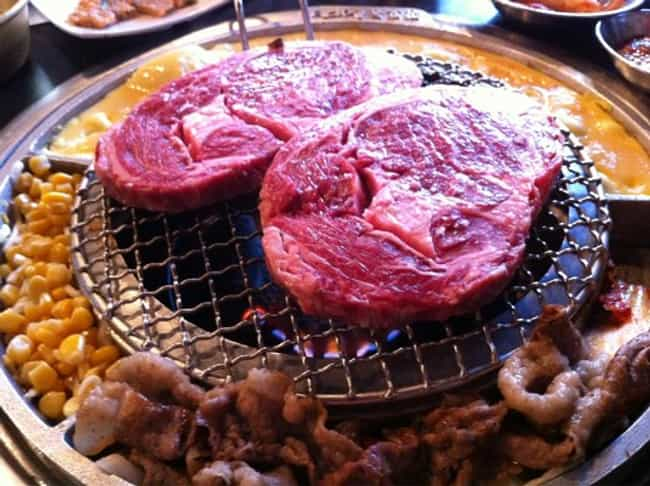 Kang Hodong Baekjeong is listed (or ranked) 1 on the list The Best Korean BBQ in Los Angeles