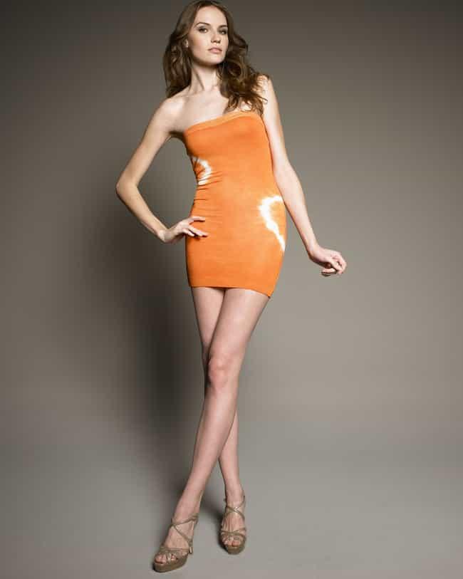Rachel Clark in an Orange Tube... is listed (or ranked) 4 on the list The Most Stunning Rachel Clark Photos