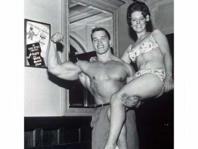 Arnold Schwarzenegger Being Ch... is listed (or ranked) 3 on the list 43 Hilarious Old Photos of Arnold Schwarzenegger Doing Stuff