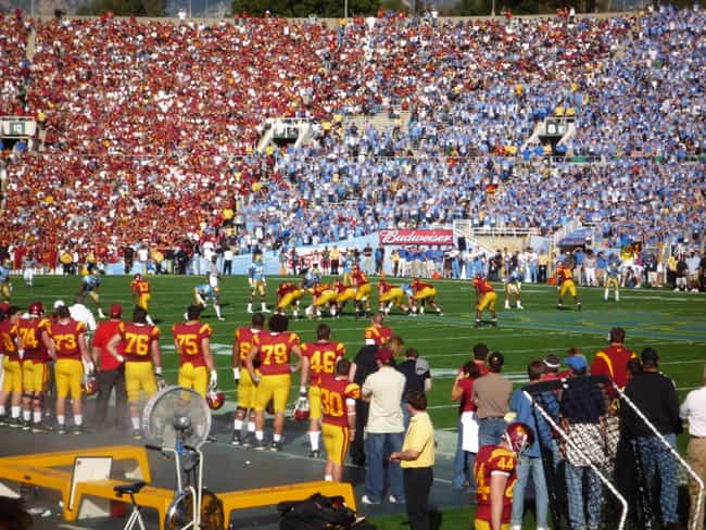 USC is UCLA's only rival. is listed (or ranked) 3 on the list 24 Reasons USC Is Better Than UCLA